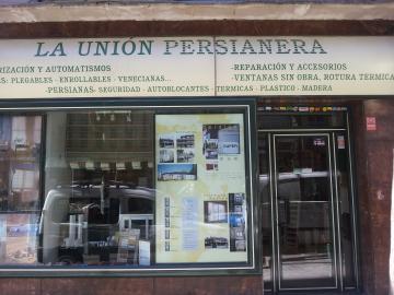 tienda unión persianera